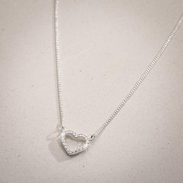 Kette - Shimmering Heart