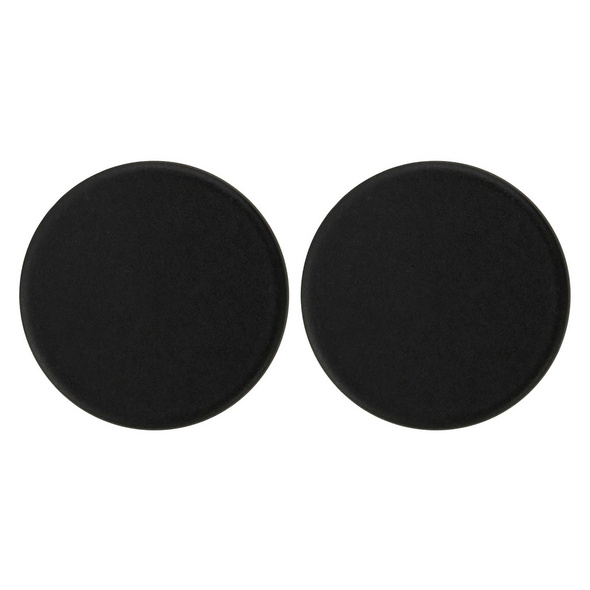 Ohrstecker - Plain Black