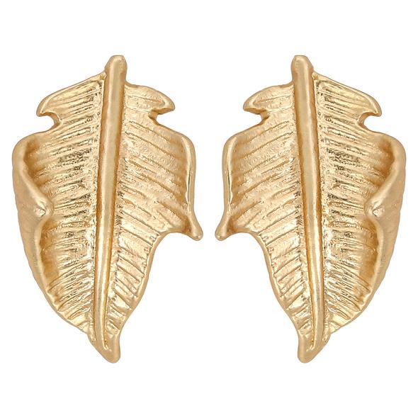 Ohrstecker - Folding Leaf