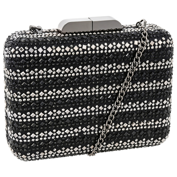 Clutch-Box - Black Sparkle