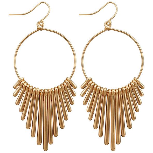 Ohrhänger - Golden Stripes