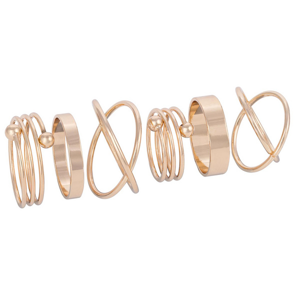 Ring-Set - Sweet Golden Graphics