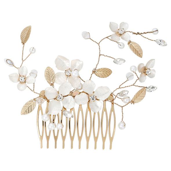 Haarkamm - Floral Dream