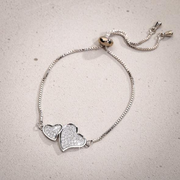 Armband - Cuddling Hearts
