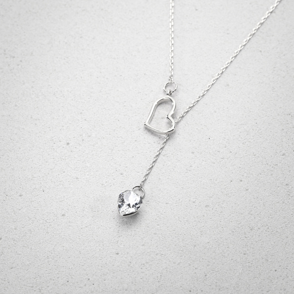 Kette - Crystal Heart