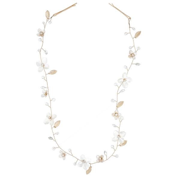 Haarnadel - Silver Flower