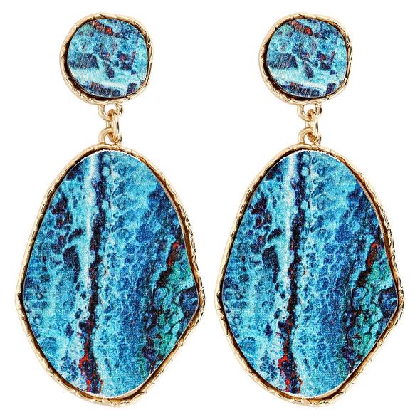 Ohrstecker - Blue Aqua