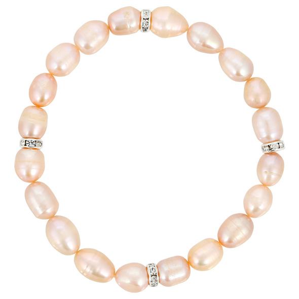 Armband - Peach Pearl