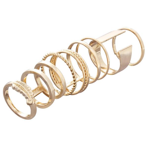 Ring Set - Golden Graphics