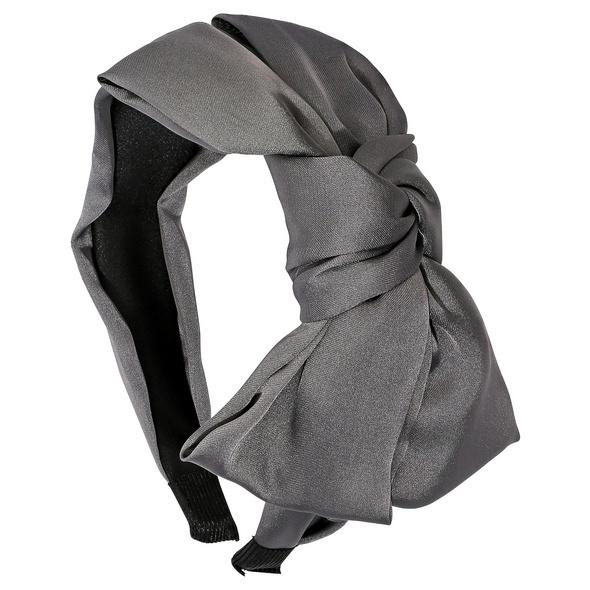 Haarreif - Grey Bow