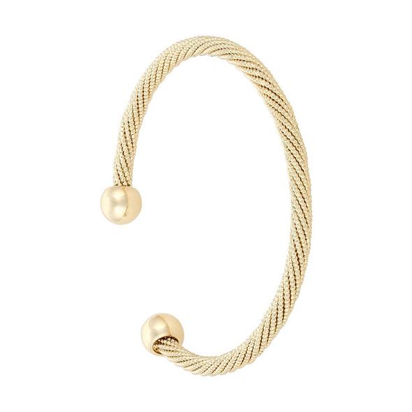 Armreif - Golden Twist