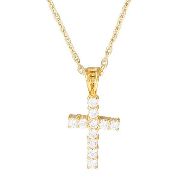 Kette - Golden Cross
