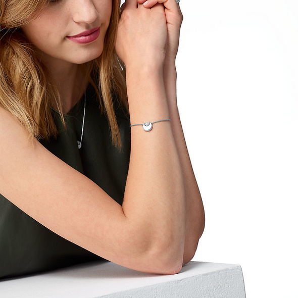 JETTE Silver Armband