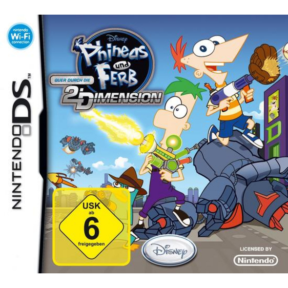 Phineas & Ferb Quer durch die 2. Dimension