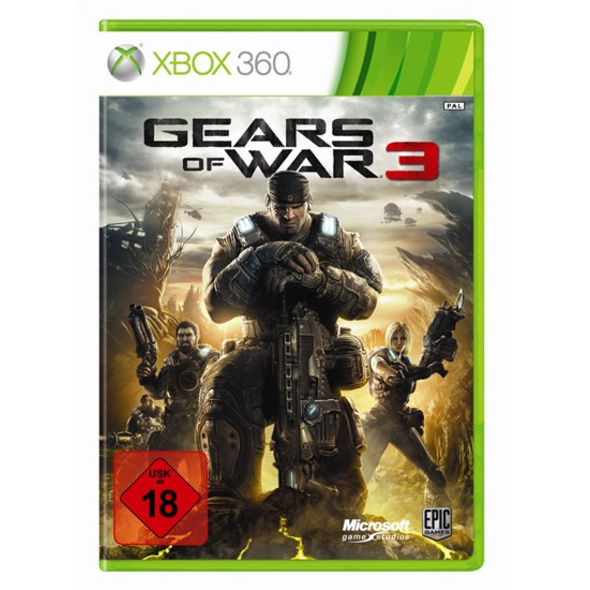 Microsoft Gears of War 3