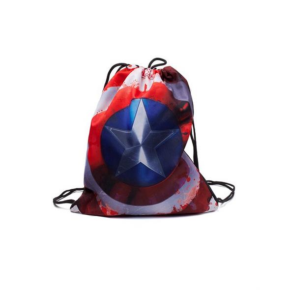 Marvel Captain America - Rucksack Gymbag