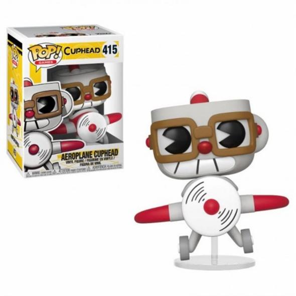 Cuphead - POP!-Vinyl Figur Aeroplane Cuphead