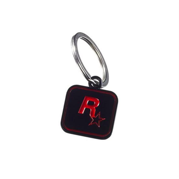 Red Dead Redemption II - Schlüsselanhänger schwarz