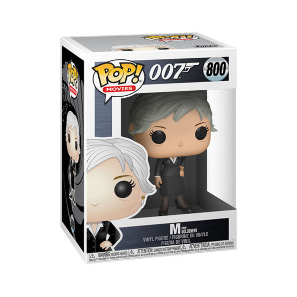 James Bond - POP!- Vinyl Figur M