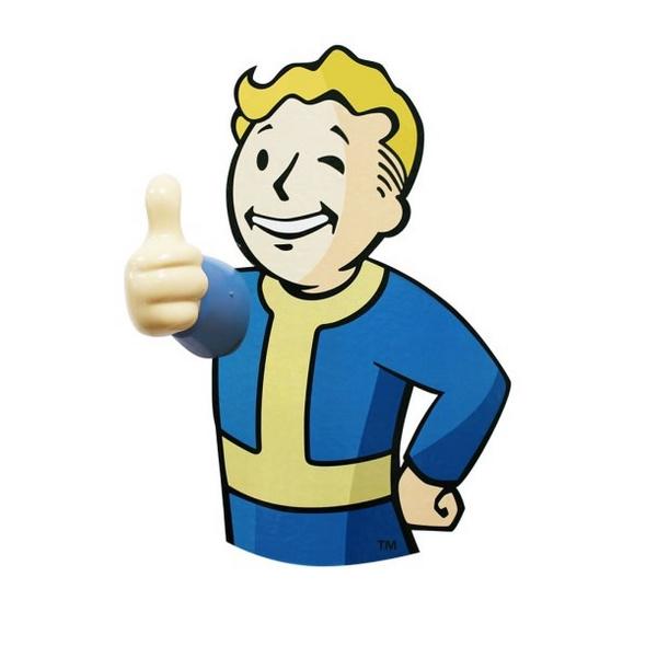 Fallout 76 - Kleiderhaken Vault Boy (2er Pack)