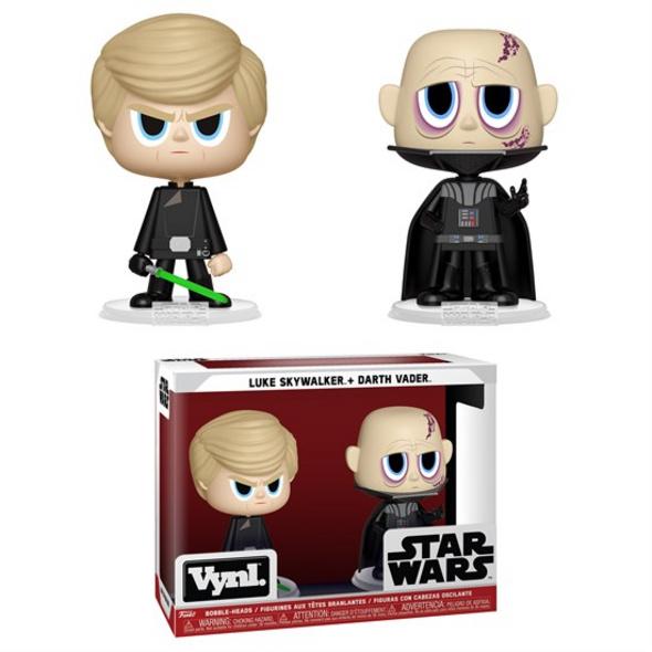 Star Wars - Vynl Figur Luke Skywalker & Darth Vader