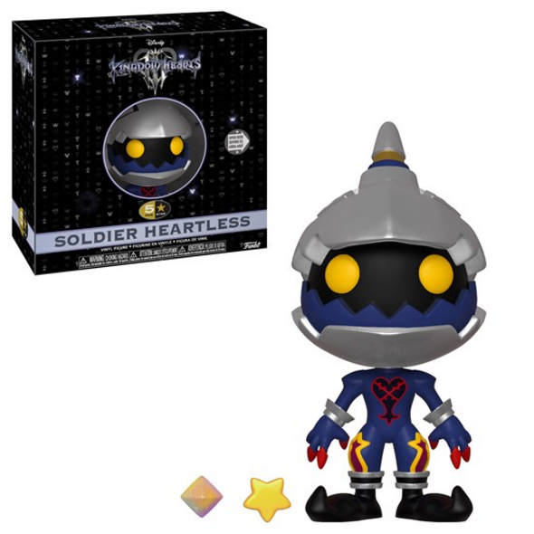 Kingdom Hearts III - 5 Star Figur Soldier Heartless