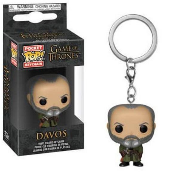 Game of Thrones - Pocket POP! Schlüsselanhänger Davos