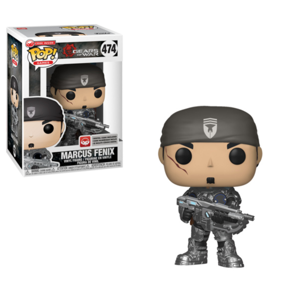 Gears of War - POP!-Vinyl Figur Marcus Fenix