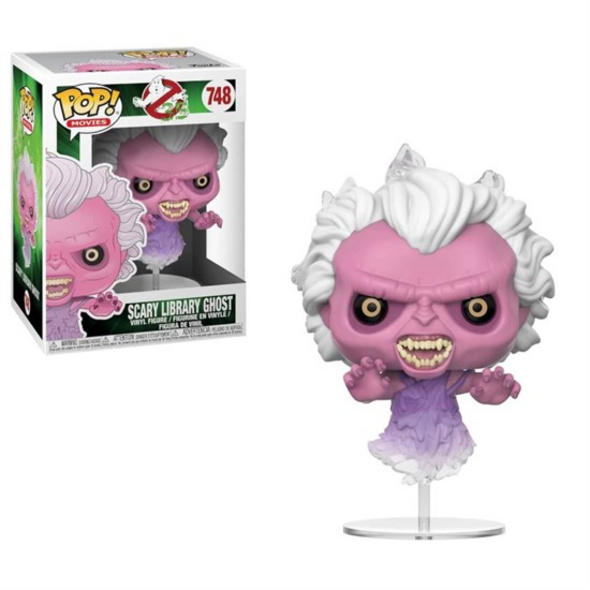 Ghostbusters - Pop! Vinyl Figur Scary Library Ghost