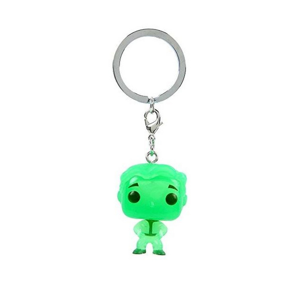 Fallout - Pocket POP! Schlüsselanhänger Vault Boy (Glow in the Dark)