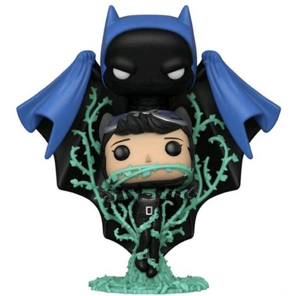 DC Comics  - POP!-Vinyl Figur Batman und Catwoman in Ranken