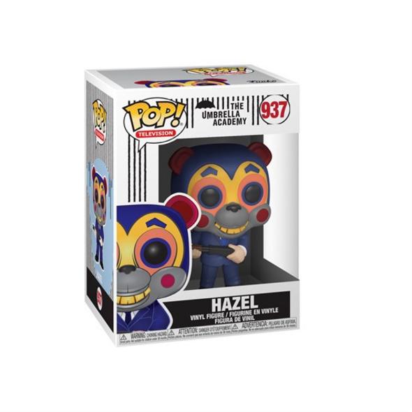The Umbrella Academy - POP!-Vinyl Figur Hazel mit Maske