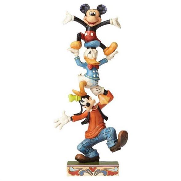 Disney - Figur Goofy, Donald Duck & Mickey