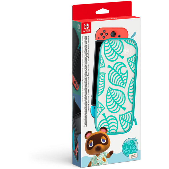 Nintendo Switch-Tasche & -Schutzfolie Animal Crossing