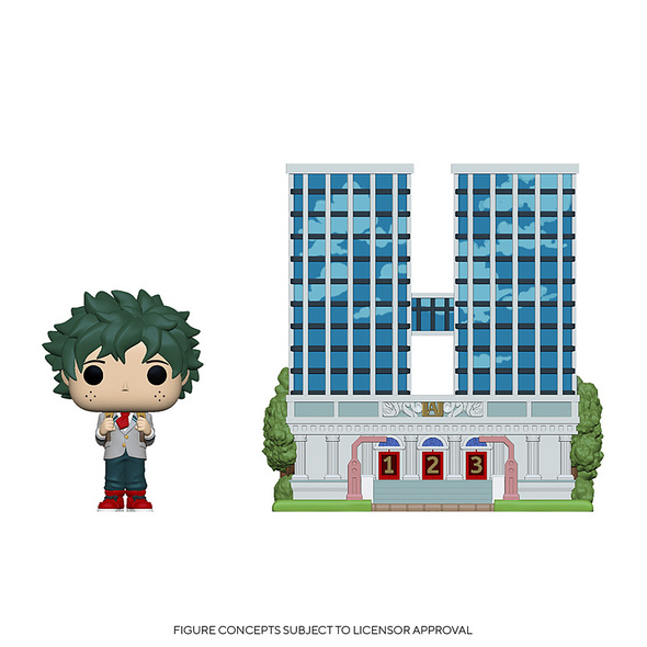 My Hero Academia -  POP!-Vinyl Figur U.A. High School mit Deku in Uniform