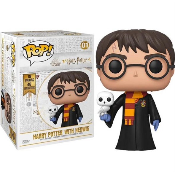 Harry Potter - POP!-Vinyl Figur Harry mit Hedwig