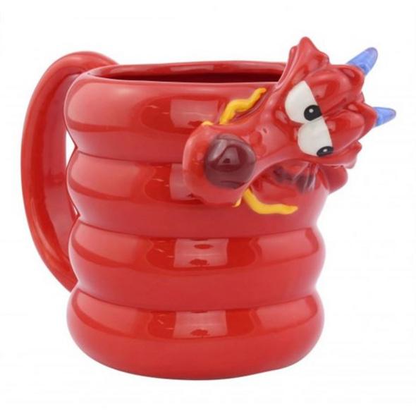 Disney Mulan - Tasse Mushu 3D
