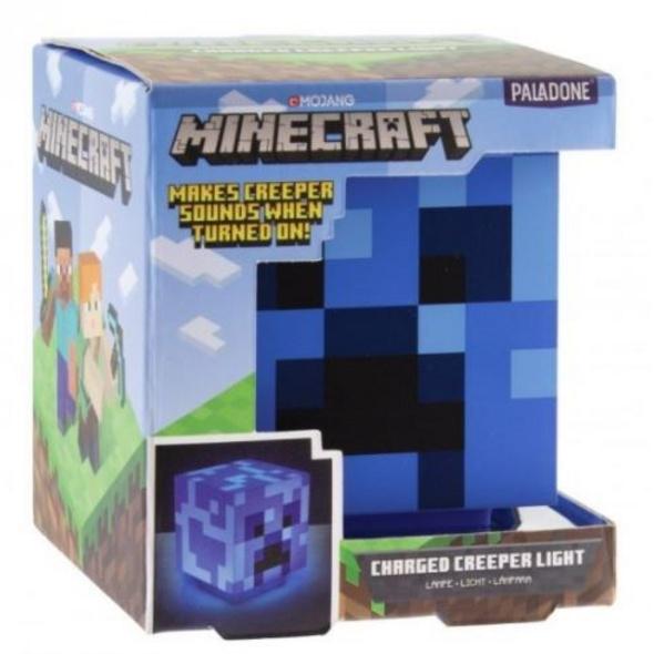 Minecraft - Lampe Geladener Creeper