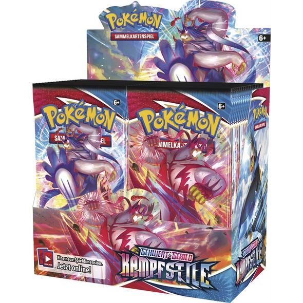 Pokémon Sammelkartenspiel: Schwert & Schild 05 Booster-Pack (zufällige Auswahl)
