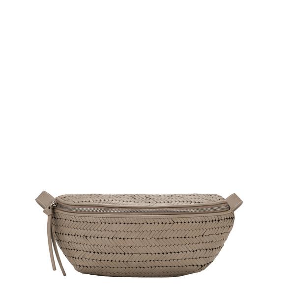 Gürteltasche mit geflochtenen Leder - Sintra Belt Bag