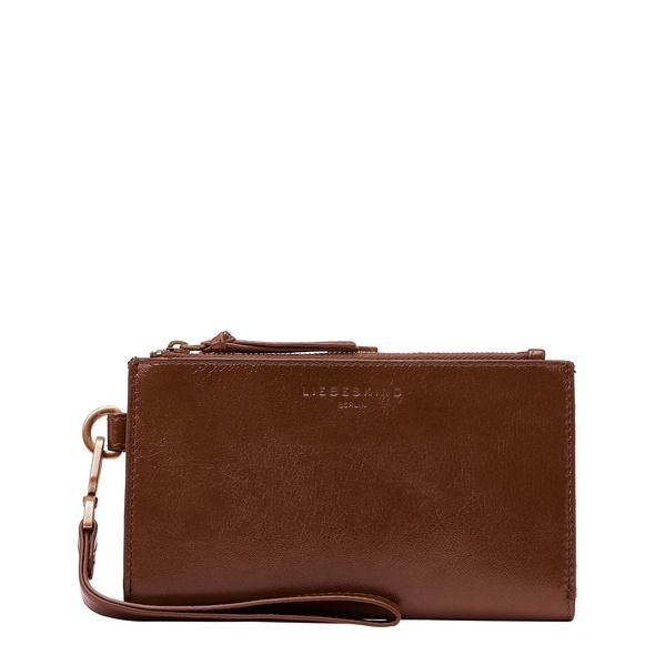 Geldbörse aus Leder mit glossy Finish - Farrah Ivy