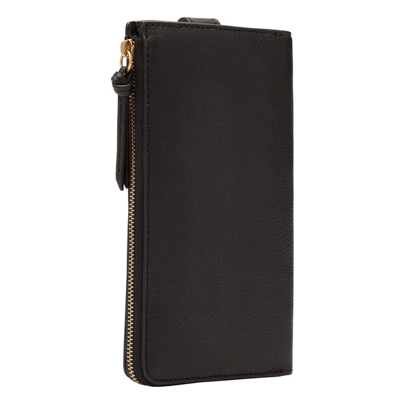 Geldbeutel mit Handyfach aus Leder - Gray Ilka Mobile Bag