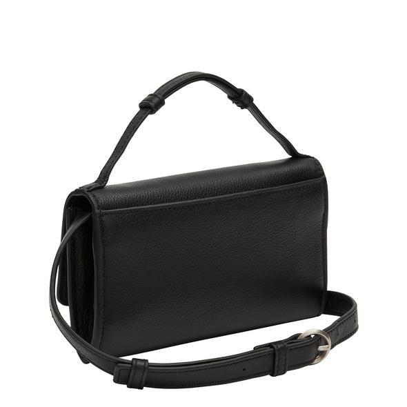 handliche Crossbody Bag aus Leder - Basic Crossbody XS