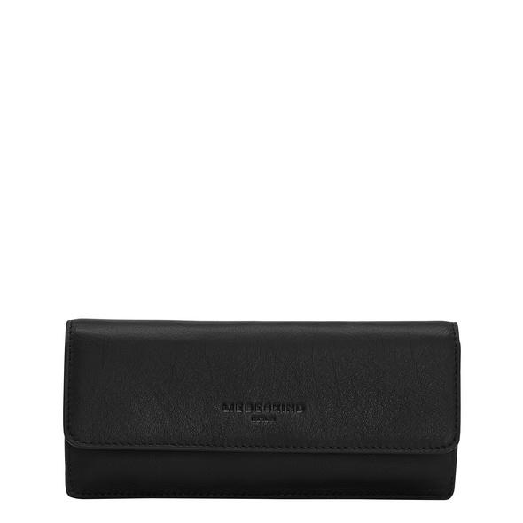 großes Portemonnaie aus Leder - Basic Marina