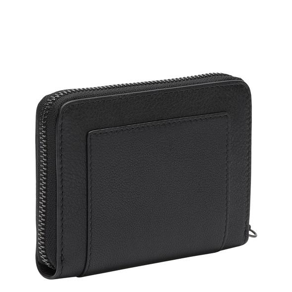 Geldbörse mit Reißverschluss und hochwertigem Ledermix - Side by Side Conny
