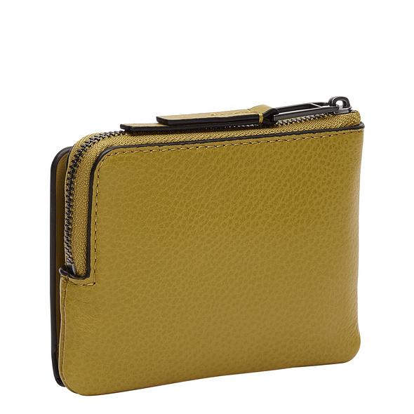 Brieftasche aus Leder mit Zweifarbenveredelung - Georgia Smilla