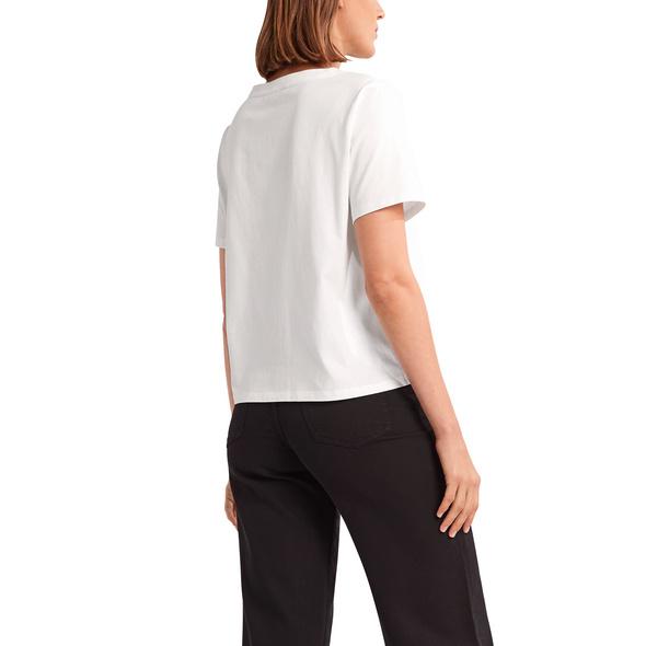 Baumwollshirt mit Ziernaht - Jerseyshirt