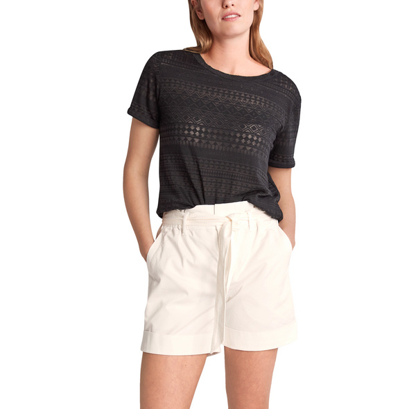 Shirt mit U-Boot-Ausschnitt - Jerseyshirt