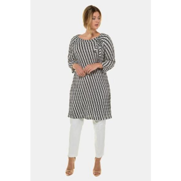 Longshirt, Struktur-Jersey, A-Linie, selection