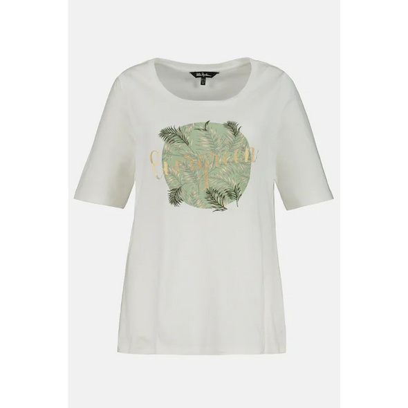 T-Shirt, Motiv EVERGREEN, Stickerei, Classic